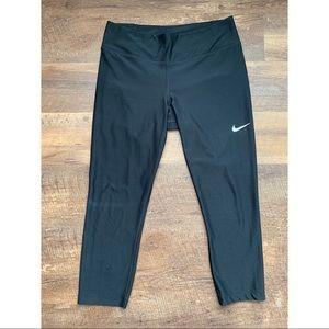 Nike Dri Fit Cropped Leggings Size L